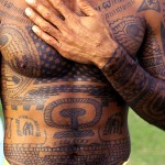 Un tatouage polynésien