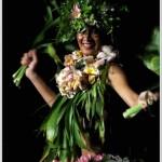 Polynésie danseuse Ori Tahiti